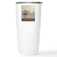African Tribesman Travel Mug