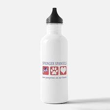 Springer Spaniel Lover Water Bottle