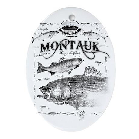 Montauk Ornament (Oval)