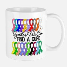 Together We Can Find A Cure Mug