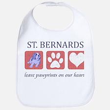 Saint Bernard Lover Bib