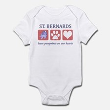 Saint Bernard Lover Infant Bodysuit