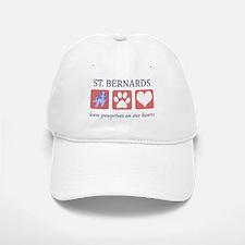 Saint Bernard Lover Baseball Baseball Cap