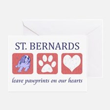Saint Bernard Lover Greeting Card