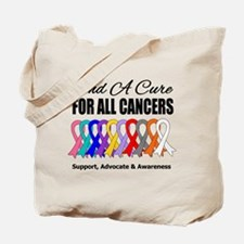 Find A Cure For All Cancers Tote Bag