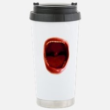 RED red Stainless Steel Travel Mug