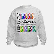 Awareness Matters Ribbons Sweatshirt