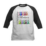 Awareness matters ribbons shirt Clothing