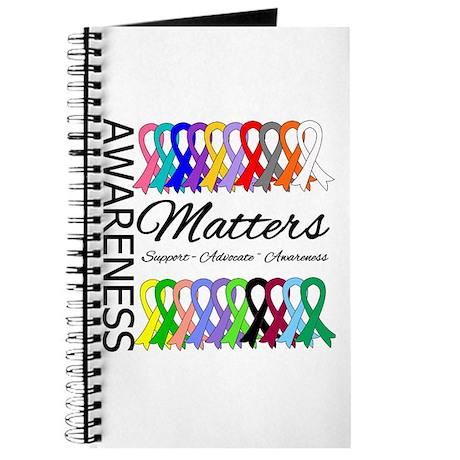 Awareness Matters Ribbons Journal