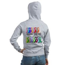 Banding Together For A Cure Zipped Hoody
