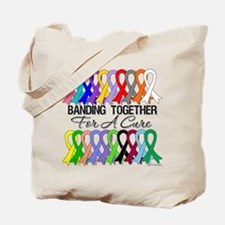 Banding Together For A Cure Tote Bag