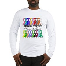 Banding Together For A Cure Long Sleeve T-Shirt