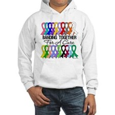 Banding Together For A Cure Hoodie Sweatshirt