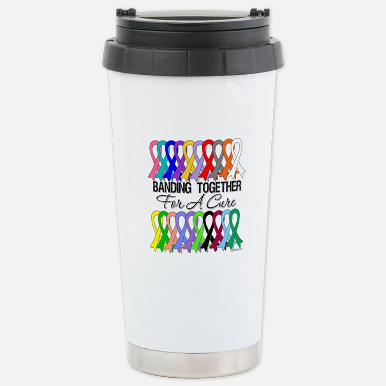 Banding Together For A Cure Travel Mug