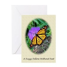 Butterfly Classical Poem Greeting Card