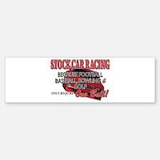 Stock Car Auto Racing Bumper Bumper Sticker