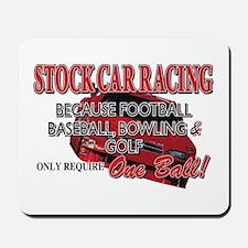 Stock Car Auto Racing Mousepad