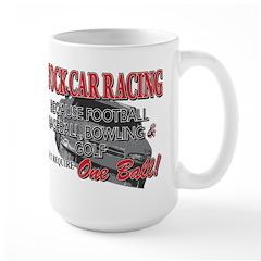 Stock Car Auto Racing Mug