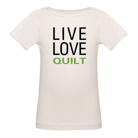 Live Love Quilt Organic Baby T-Shirt