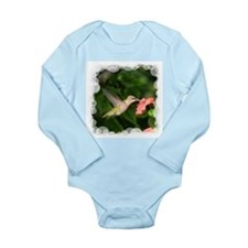 Hummingbird Long Sleeve Infant Bodysuit