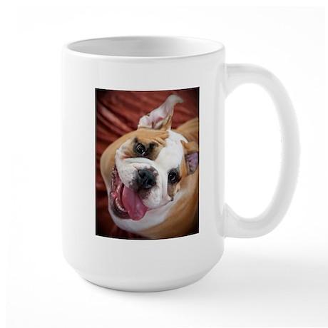 English Bulldog Puppy Large Mug