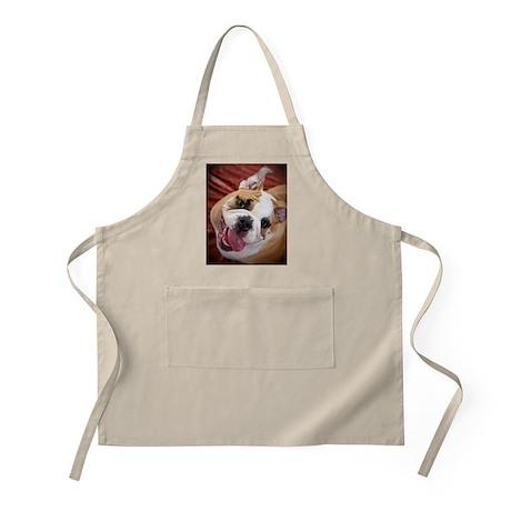 English Bulldog Puppy Apron