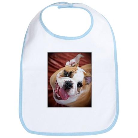 English Bulldog Puppy Bib