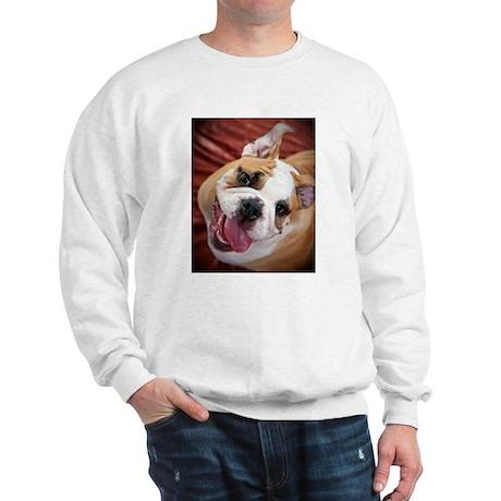 English Bulldog Puppy Sweatshirt