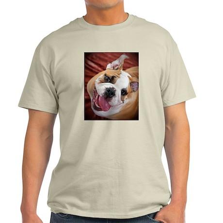 English Bulldog Puppy Light T-Shirt