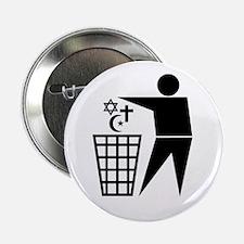 Trash Religion Button