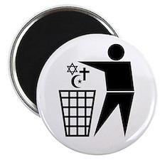 "Trash Religion 2.25"" Magnet (10 pack)"