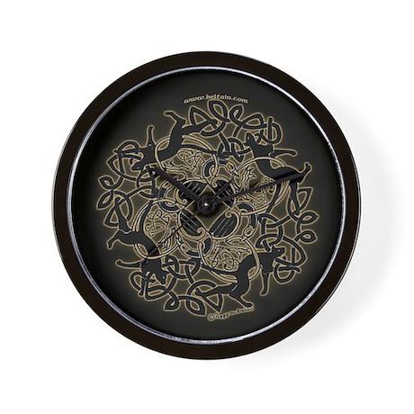 Samhain Celtic Knot Wall Clock #2