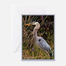Blue Heron Greeting Cards (Pk of 10)