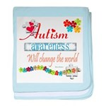 Autism Awareness Will Change baby blanket