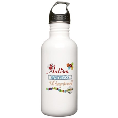 Autism Awareness Will Change Stainless Water Bottl