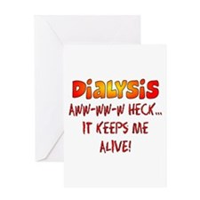 Dialysis Greeting Card