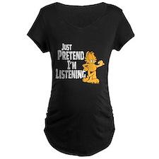 Just Pretend Maternity Dark T-Shirt