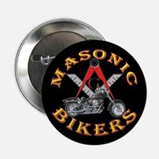 "Masonic Bikers 2.25"" Button (100 pack)"