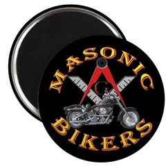 Masonic Bikers Magnet