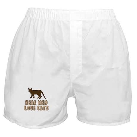 Real Men Love Cats Boxer Shorts