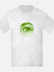 Green spring eye - T-Shirt