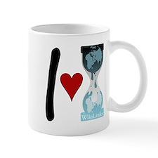 I heart WikiLeaks Mug