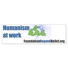Humanism at Work Bumpersticker
