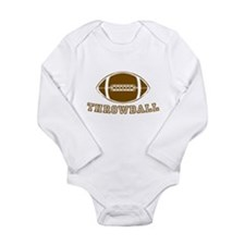 Throwball Long Sleeve Infant Bodysuit
