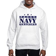 Proud Navy Grandpa Hoodie