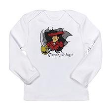 Gimmie Yar Booty! Long Sleeve Infant T-Shirt