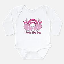 I Lost The Bet Long Sleeve Infant Bodysuit
