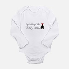 Don't Forget The Soy Sauce! Long Sleeve Infant Bod