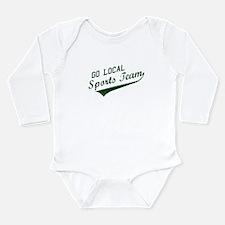 Go Local Sports Team - Green Long Sleeve Infant Bo