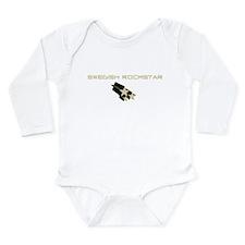 Swedish Rockstar Long Sleeve Infant Bodysuit